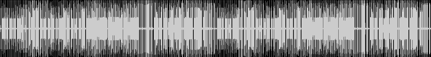 FC風ループ 打ち寄せる波を越えての未再生の波形