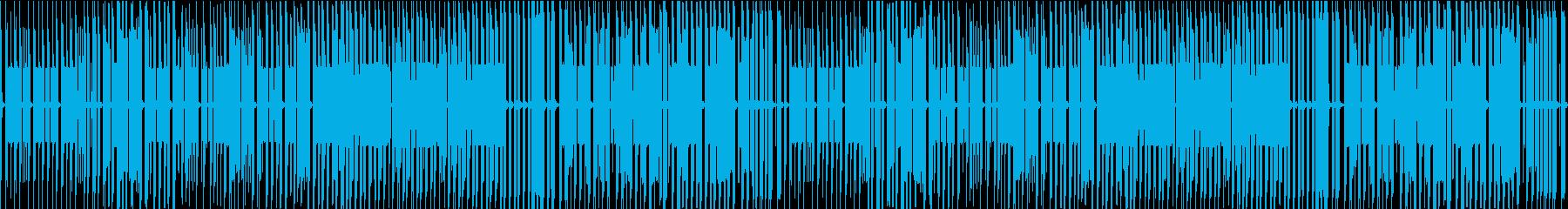 FC風ループ 打ち寄せる波を越えての再生済みの波形