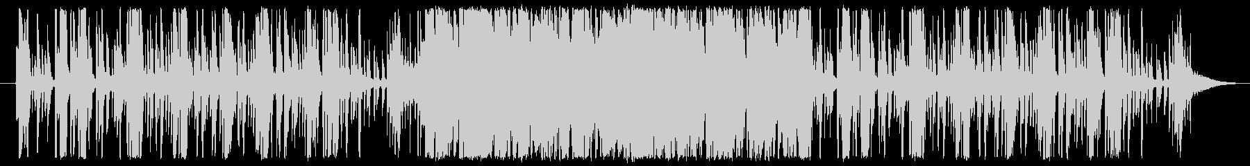エレクトロピアノが印象的なジャズの未再生の波形