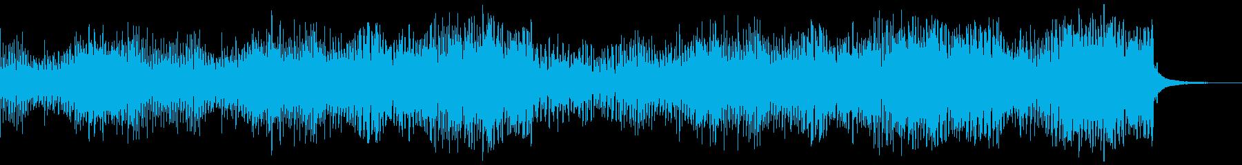 【リズム抜】かわいい感じのゆるやかテクノの再生済みの波形