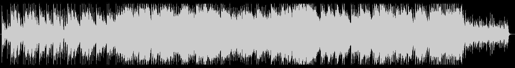 優しく、切ない、風景的なチルアウトBGMの未再生の波形