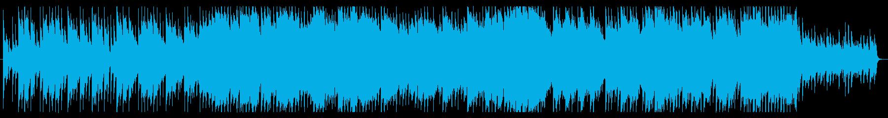 優しく、切ない、風景的なチルアウトBGMの再生済みの波形