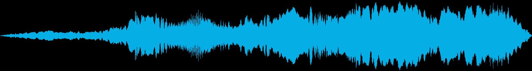 シンセビルディングドローン:さまざ...の再生済みの波形