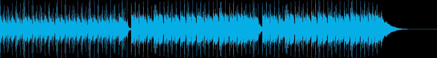 Pf「蒼空」和風現代ジャズの再生済みの波形