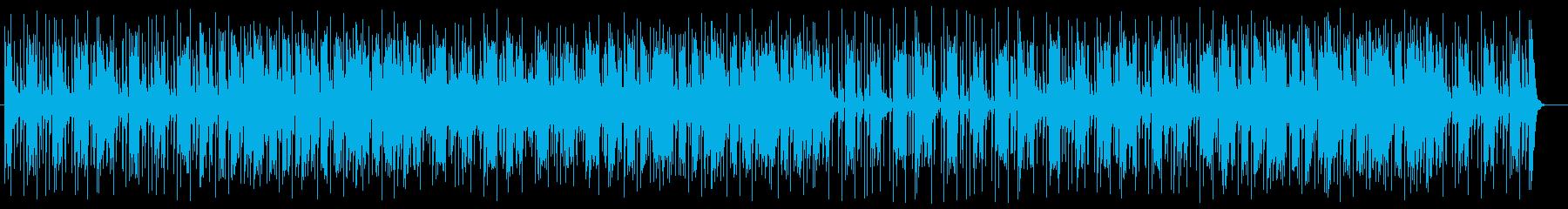 和風でメローな三味線サウンドの再生済みの波形