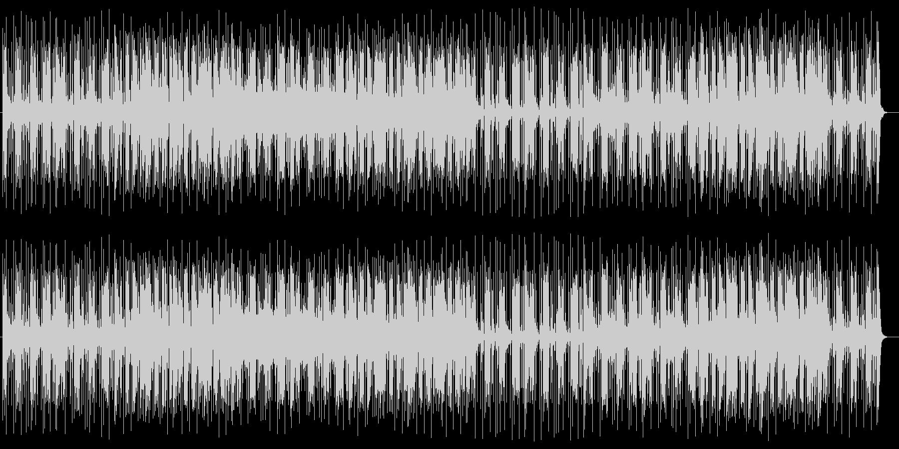 和風でメローな三味線サウンドの未再生の波形
