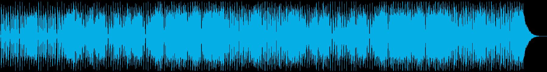 爽やかで可愛いアコースティックポップの再生済みの波形
