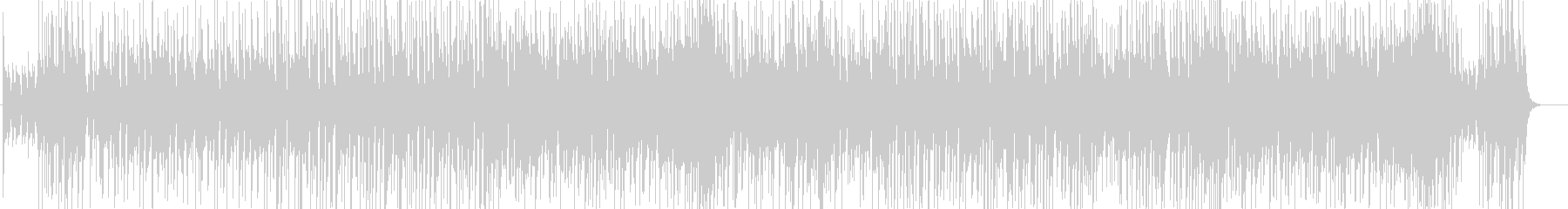 80'sトロピカル風サウンドの未再生の波形