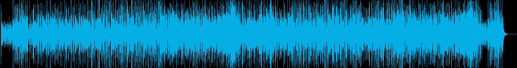 80'sトロピカル風サウンドの再生済みの波形