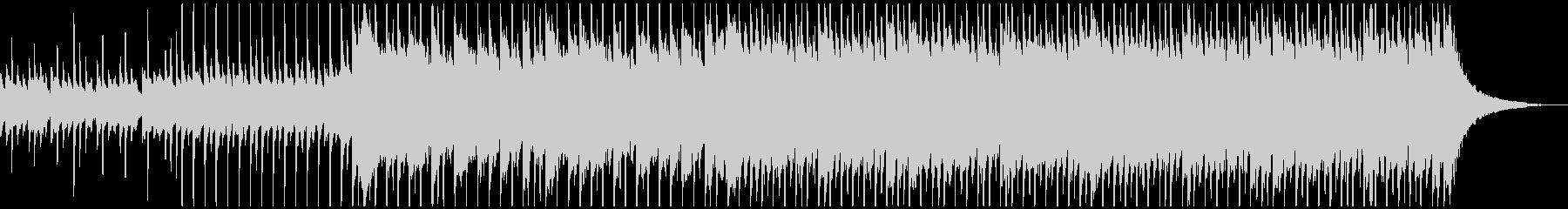 ハッピーアップビート(中)の未再生の波形