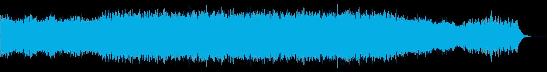 アンビエント・神秘的・リラックス・時計Kの再生済みの波形