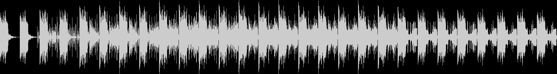 ピコピコでちょっぴり感動的なアンビエントの未再生の波形