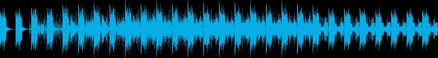 ピコピコでちょっぴり感動的なアンビエントの再生済みの波形