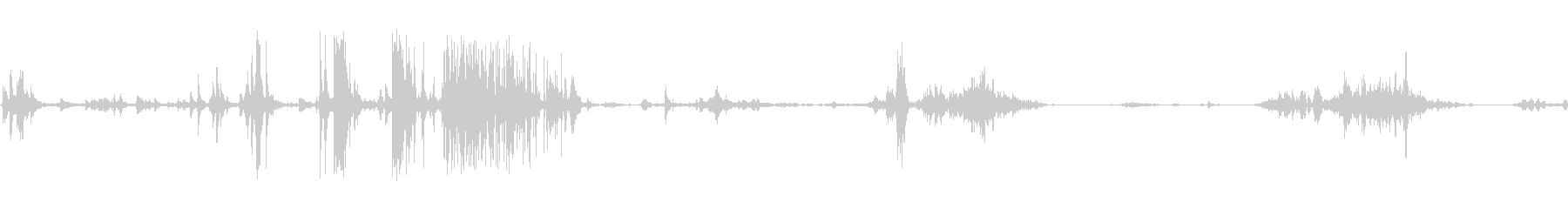 食べる音04(ポテトチップスなど)の未再生の波形
