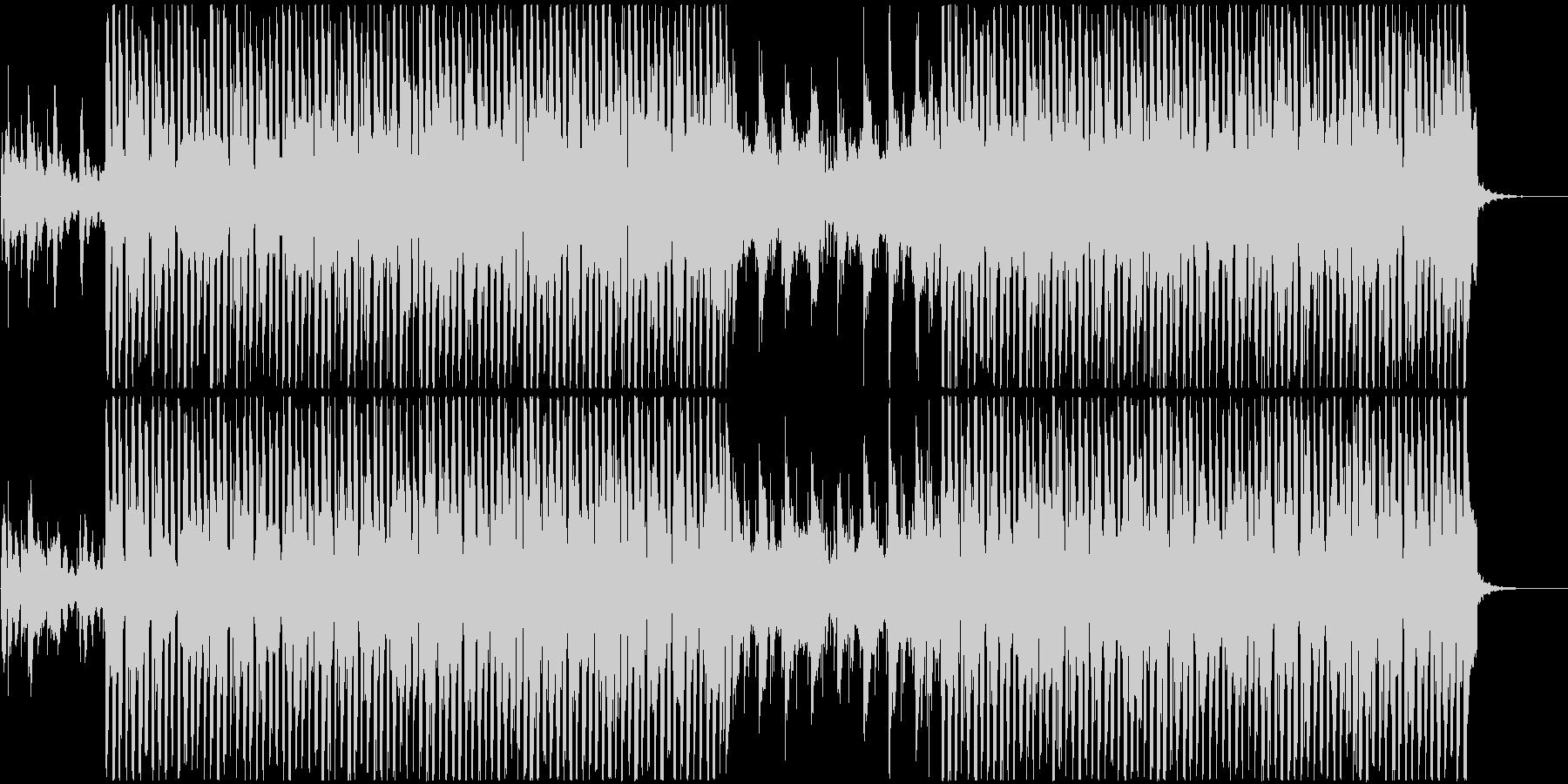 遊び心のある軽快なポップサウンドの未再生の波形