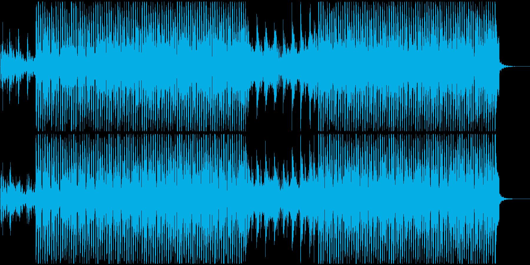 遊び心のある軽快なポップサウンドの再生済みの波形