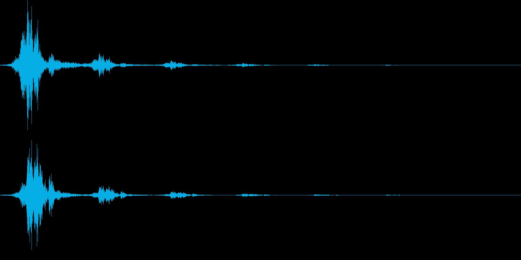 ジャンプ(エコー入り)の再生済みの波形