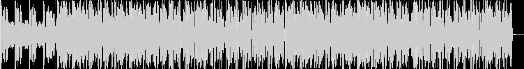 シンセ、ピアノをフィーチャーしたEDMの未再生の波形