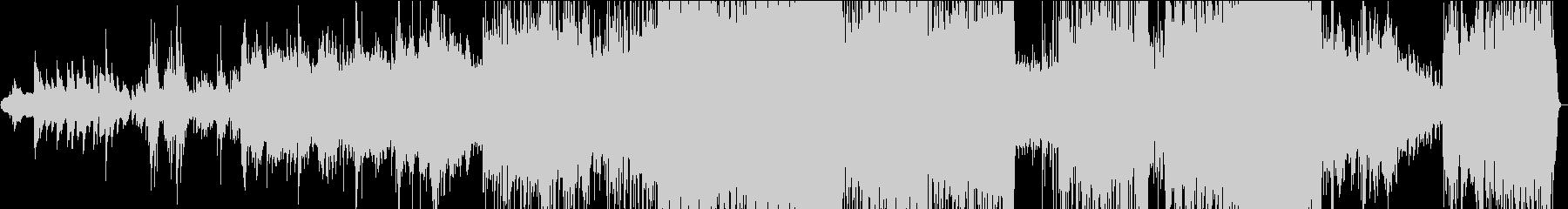 ダンス、ハウス。ディスコ80'song。の未再生の波形