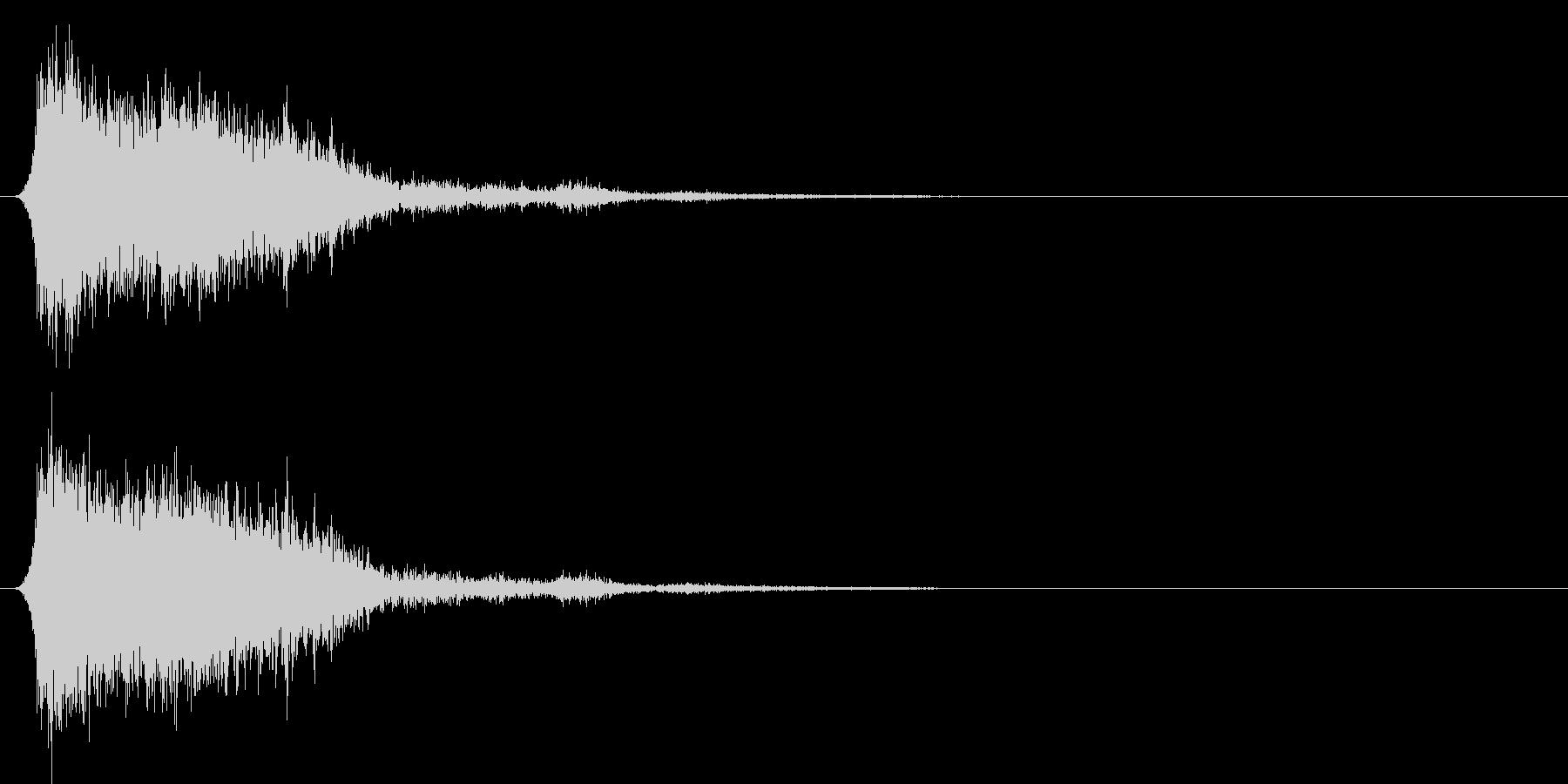 コミカルなダッシュ!ジャンプの効果音4cの未再生の波形
