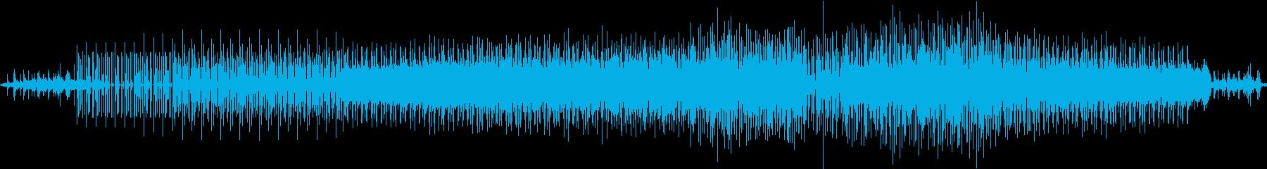 水音・雨音が奏でる爽快ポップテクノの再生済みの波形
