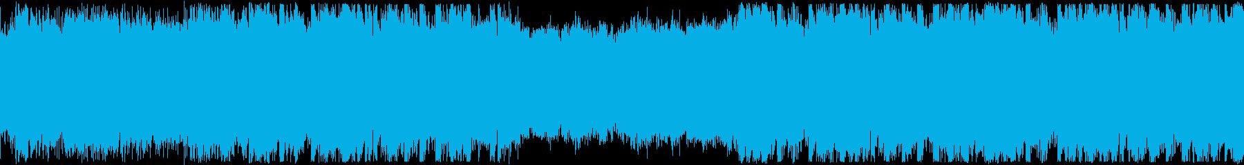 ループ・洋楽・おしゃれフューチャーベースの再生済みの波形
