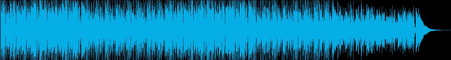 アコギ・軽快なサーフミュージックの再生済みの波形