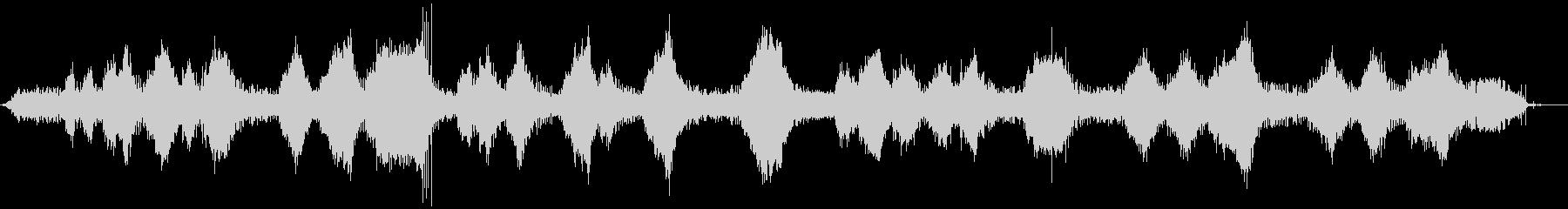 ストリングトリマー-操作(正面から...の未再生の波形