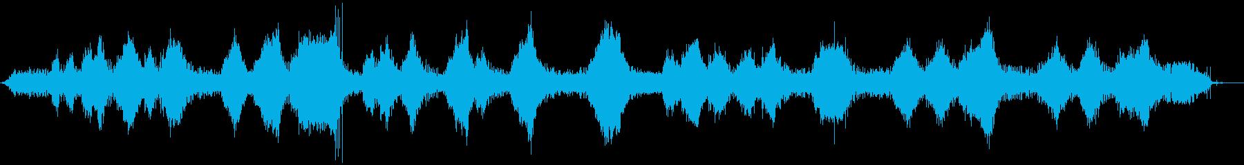 ストリングトリマー-操作(正面から...の再生済みの波形
