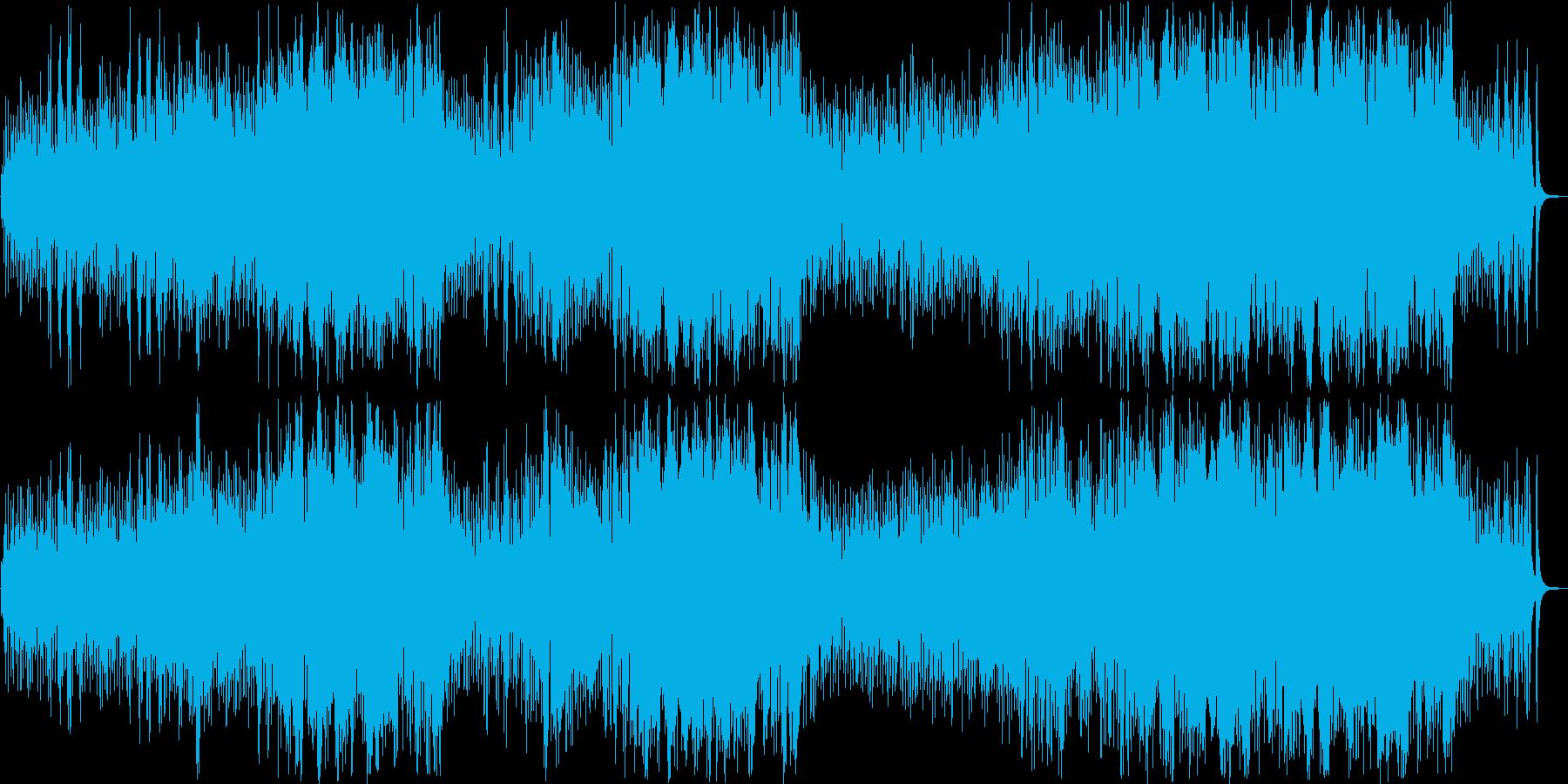 軽快で爽やかなファンタジックポップスの再生済みの波形