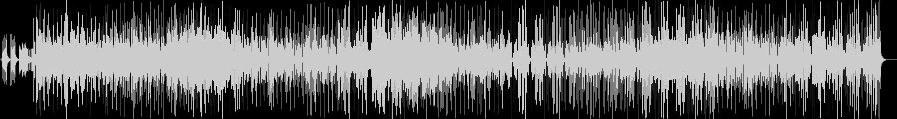 コミカルな登場木琴シンセサイザー曲の未再生の波形