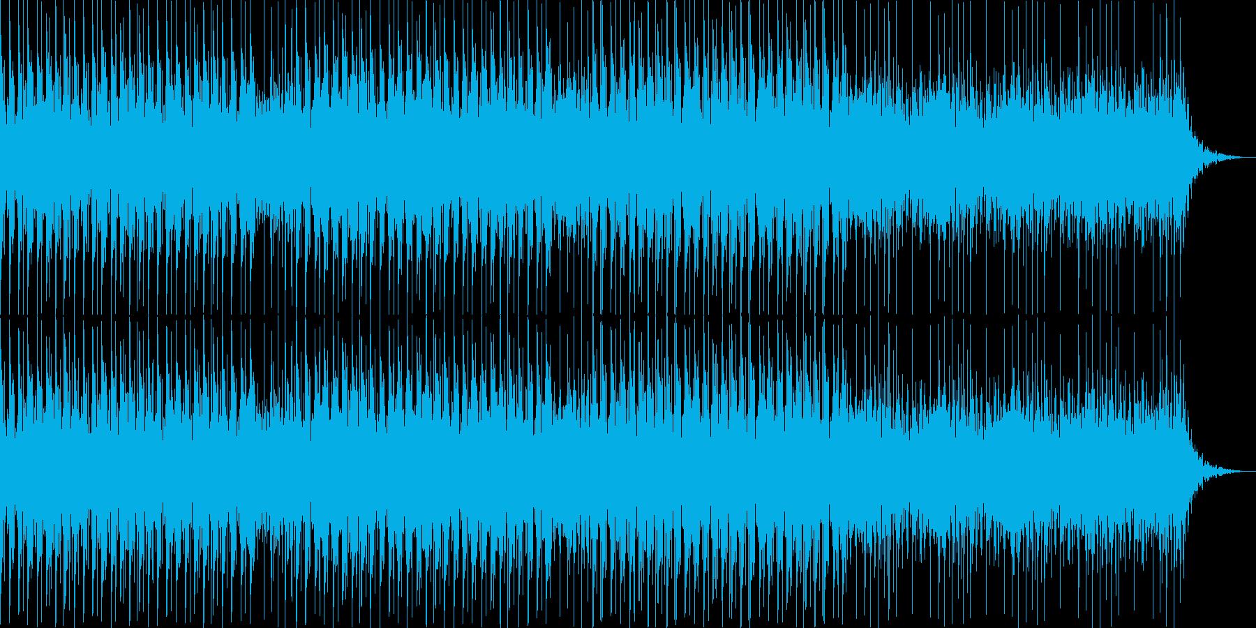 サクッと使える1分くらいのテクノの再生済みの波形