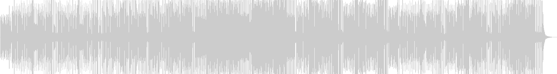 KANT運動会曲クシコスポスト8bitの未再生の波形