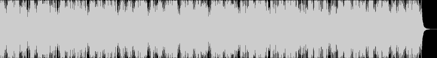 琴の怪しい和風曲の未再生の波形
