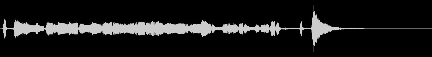 【生演奏】アコーディオンジングル42の未再生の波形
