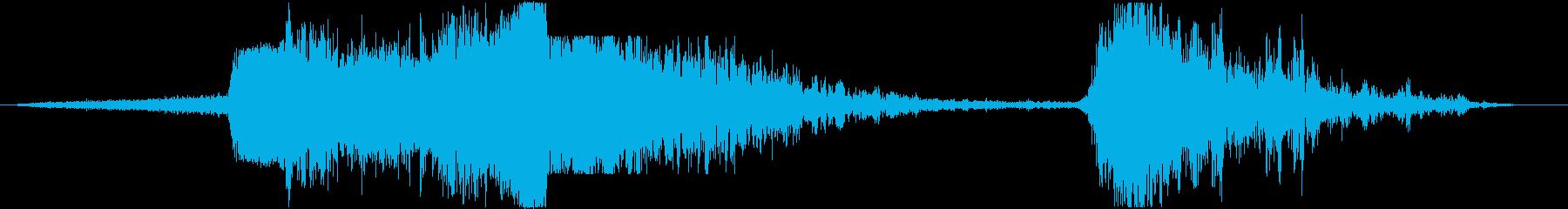 【ゲーム】 戦争_01 爆撃 空爆の再生済みの波形