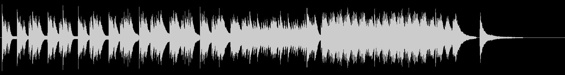 企業VP 爽やかな使いやすいピアノソロの未再生の波形