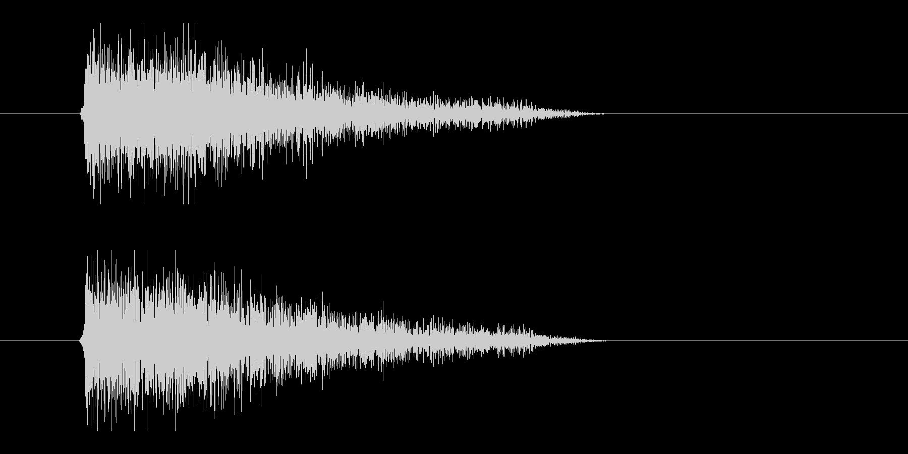 レーザー音-90-3の未再生の波形