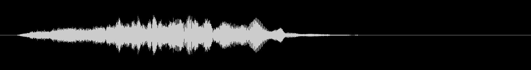 Sci Fiスイープダウン-スペー...の未再生の波形