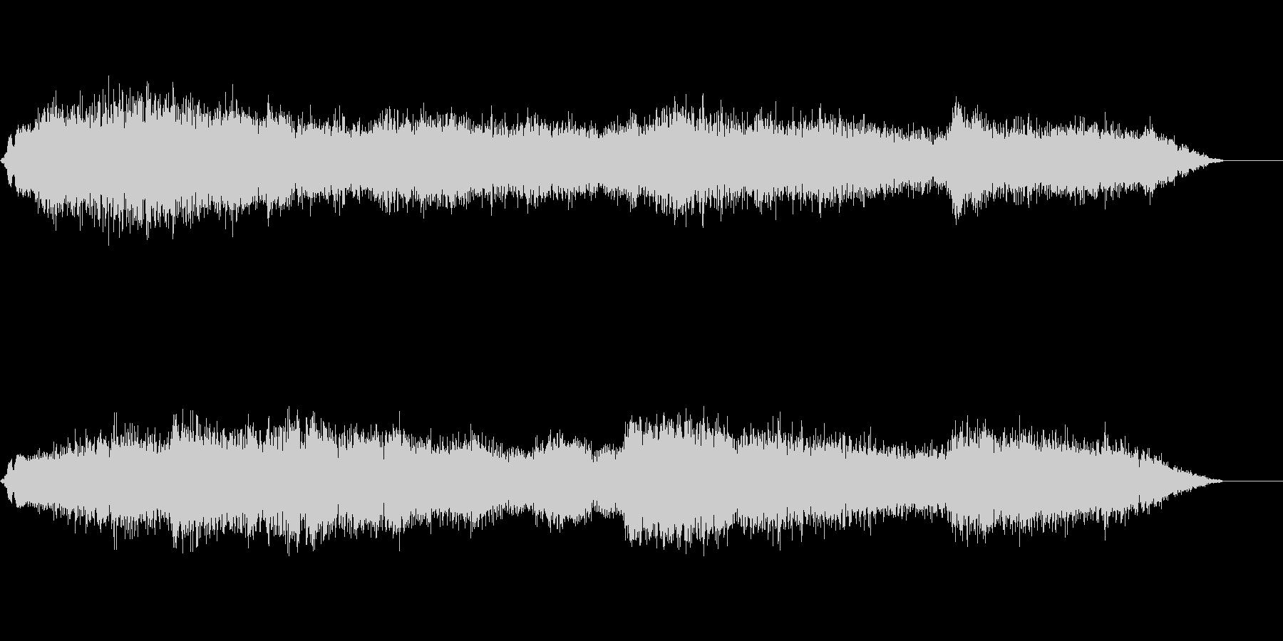 兵士の進撃の閧の声の未再生の波形