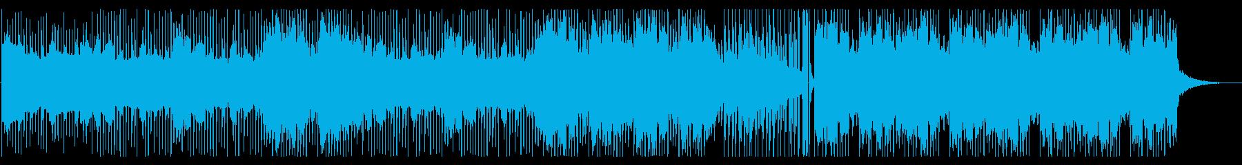 治安が悪く不穏なヒップホップ風BGMの再生済みの波形
