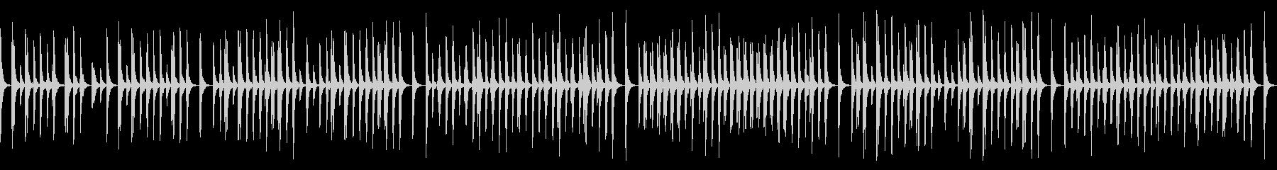 ゲームや動画向けゆるい日常系木管三重奏の未再生の波形