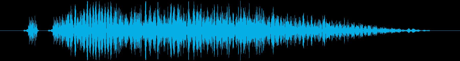 【打撃音19】パンチやキックに最適です!の再生済みの波形