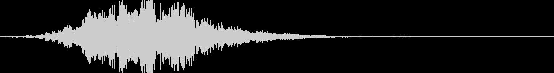 不思議な音02の未再生の波形