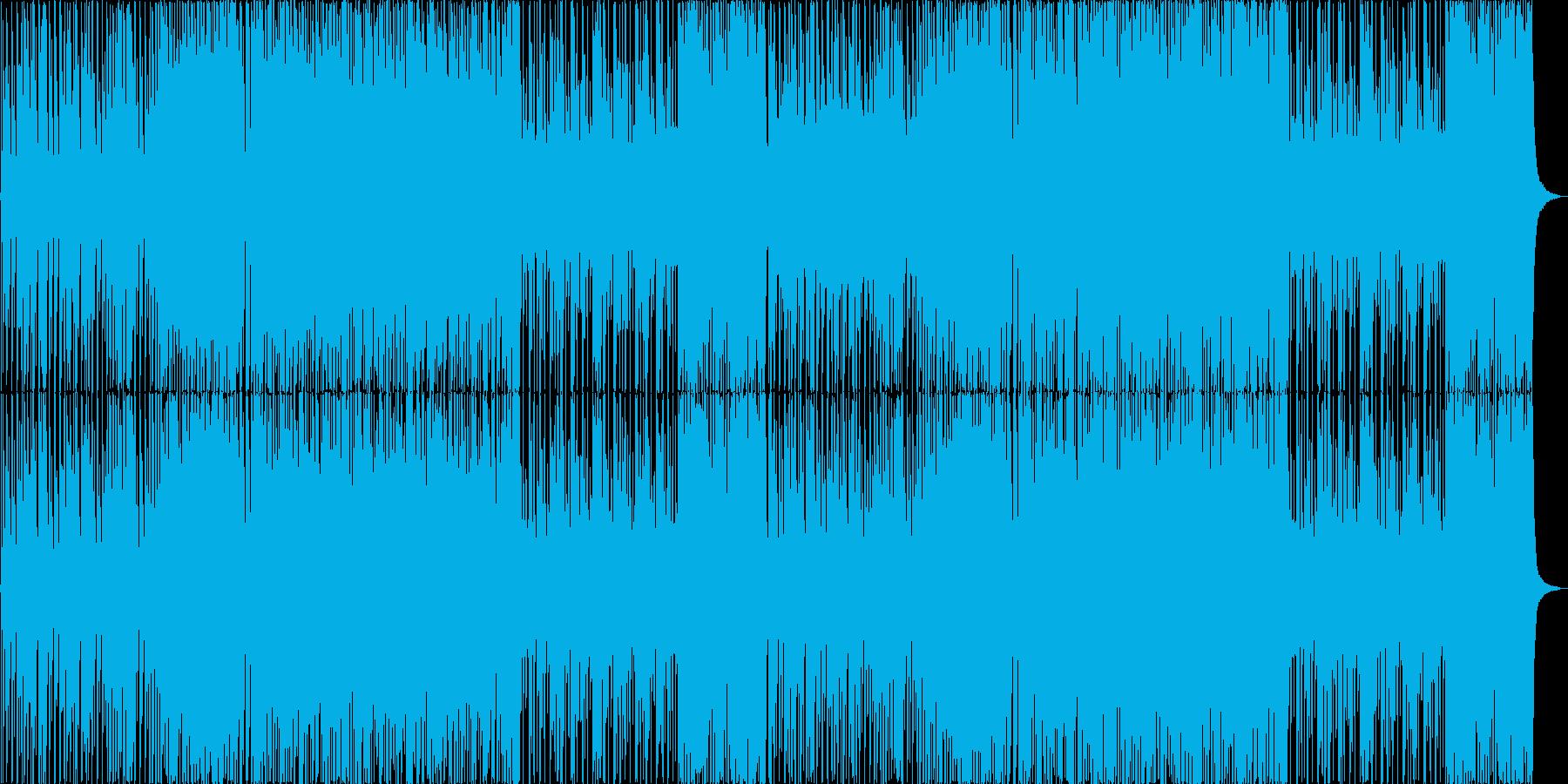 カジノ風のビッグバンドBGMの再生済みの波形