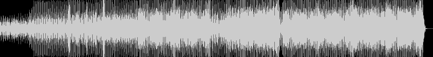 都会的ななテクノ エレキギター有・短尺+の未再生の波形