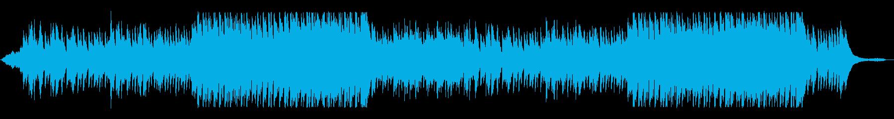 海外映画音楽の様なクリスマスオーケストラの再生済みの波形