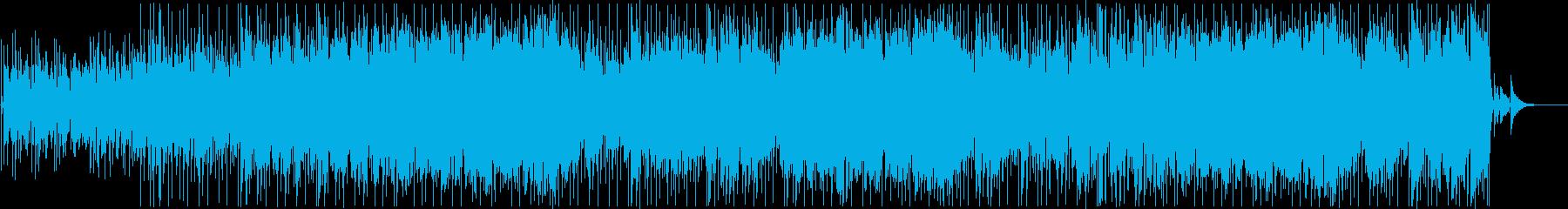明るいポップ曲、うきうきわくわく未来の再生済みの波形