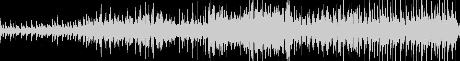 有名なカノンのピアノエレクトロニカ。の未再生の波形