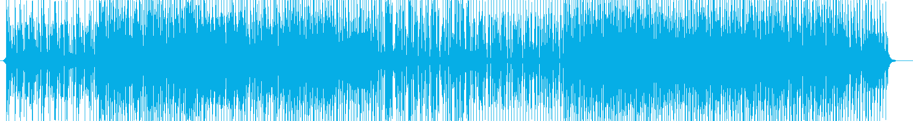 キュートなサンプリングChill♫BGMの再生済みの波形